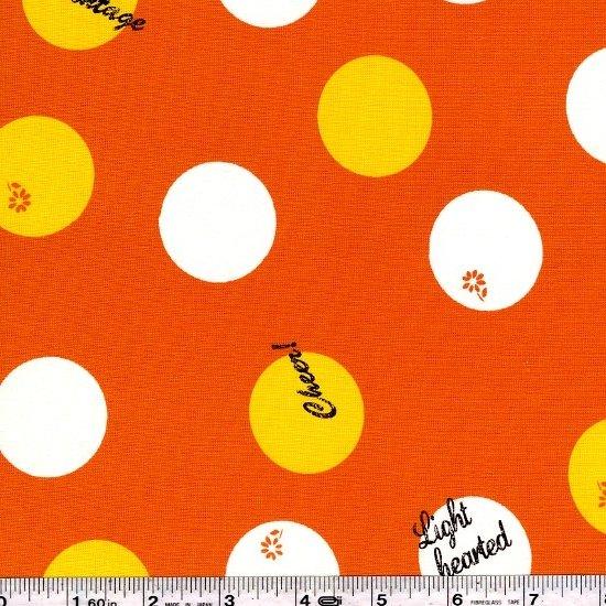 Lighthearted - Vintage Dot - Orange