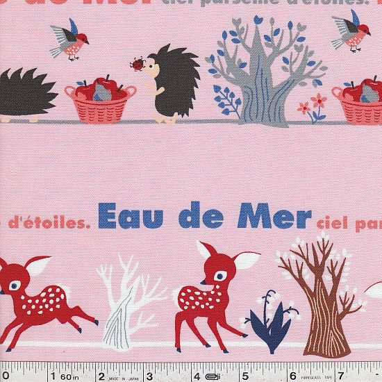 Eau De Mer - Animal Stripe - Pink