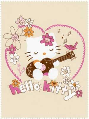 Hello Kitty - Peace & Guitars Panel