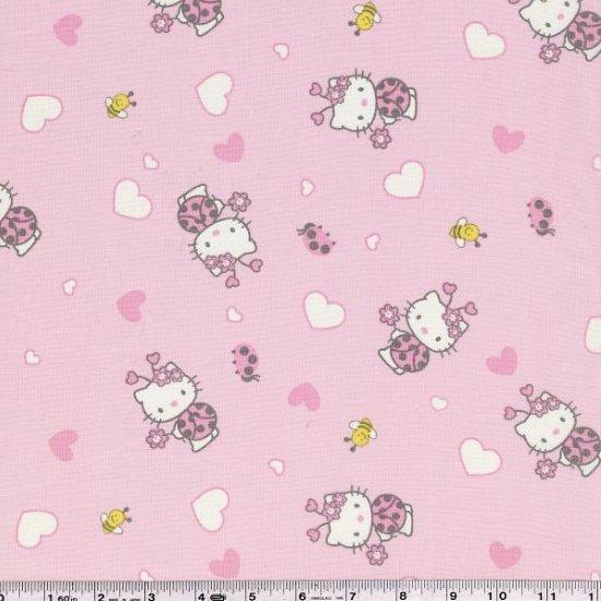Hello Kitty - Hearts & Ladybugs - Pink