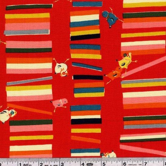 Vintage Japan - Chicks & Sticks - Red