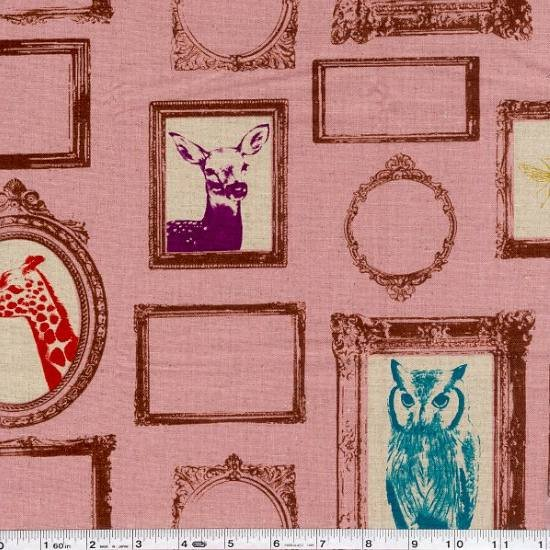 Echino Decoro - Frame - Pale Pink
