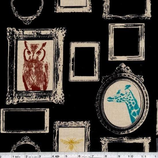 Echino Decoro - Frame - Black