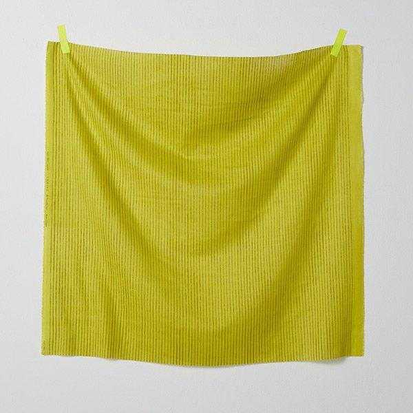 nani IRO - Camino Gauze - Color B (Chartreuse)