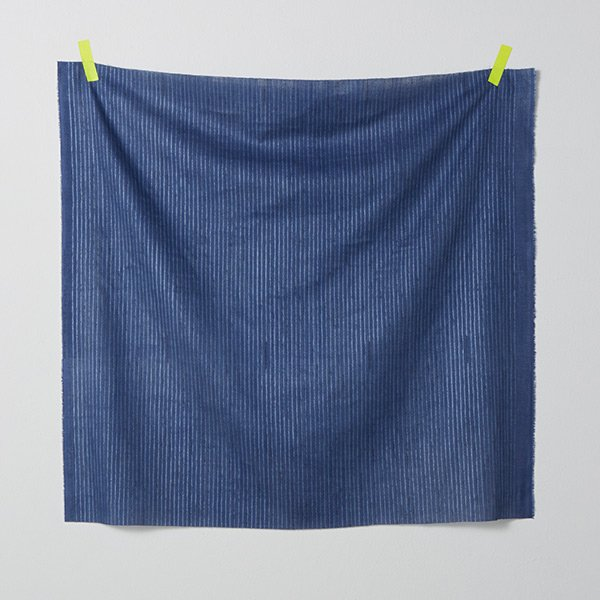 nani IRO - Camino Gauze - Color C (Navy Blue)