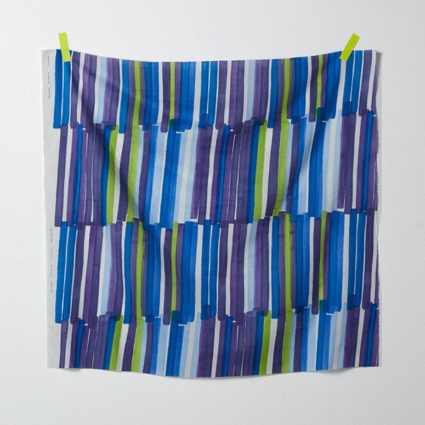 nani IRO - Grace Gauze - Color C (Blue & Purple)
