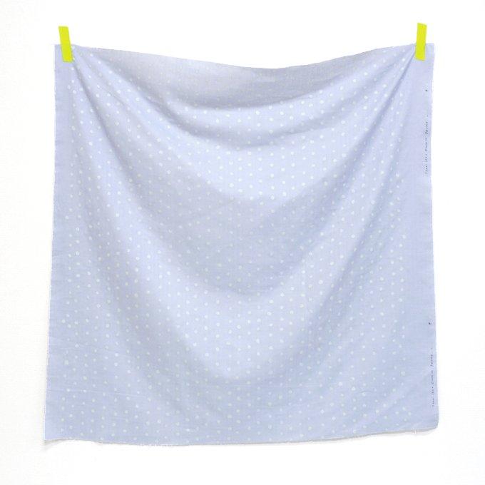 Nani IRO Basic - Pocho - Silver on Pale Lavender Grey