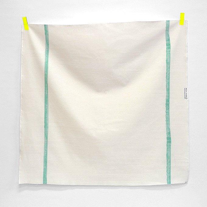 nani IRO - Herringbone Pencil Canvas - Stream