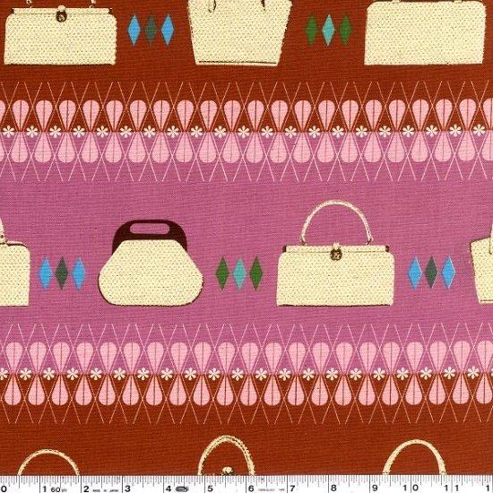 Ruby Star Polka Dot - Handbags - Russet & Orchid