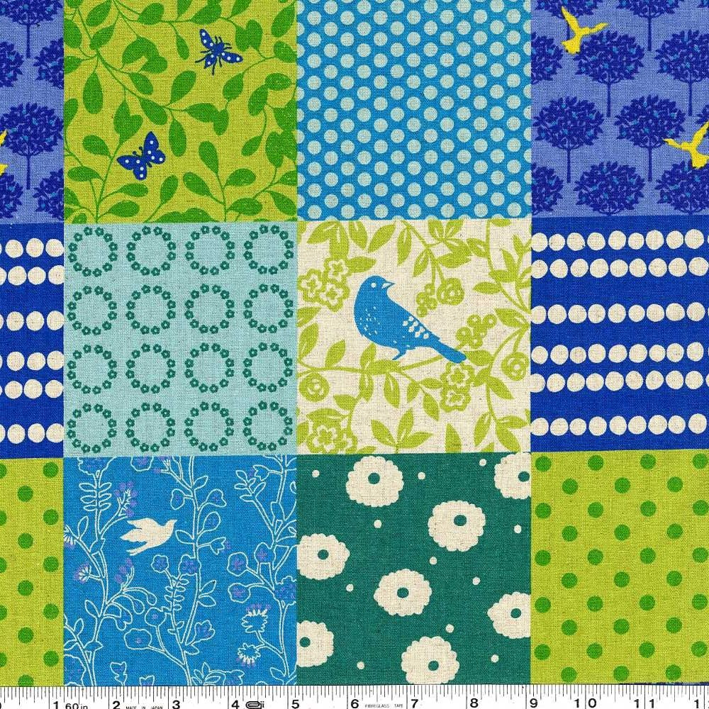 Echino Standard - Story - Blue & Green
