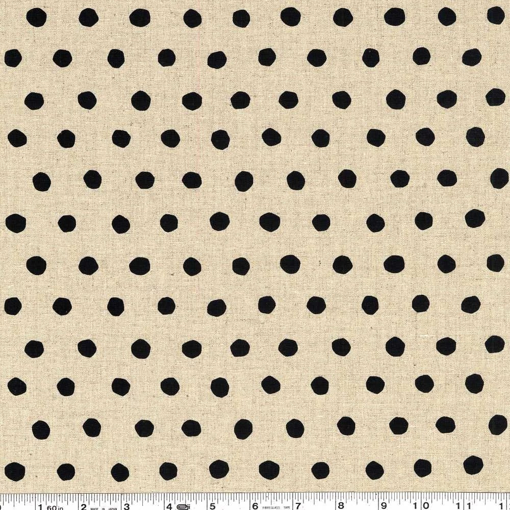 Echino Standard - Dot - Natural & Black