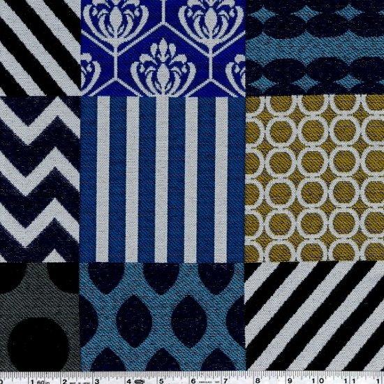 Echino - Piece Jacquard - Blue