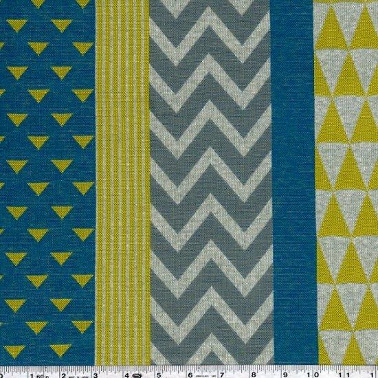 Echino - Block Knit Jacquard - Turquoise