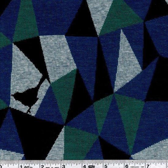 Echino - Mosaic Knit Jacquard - Blue