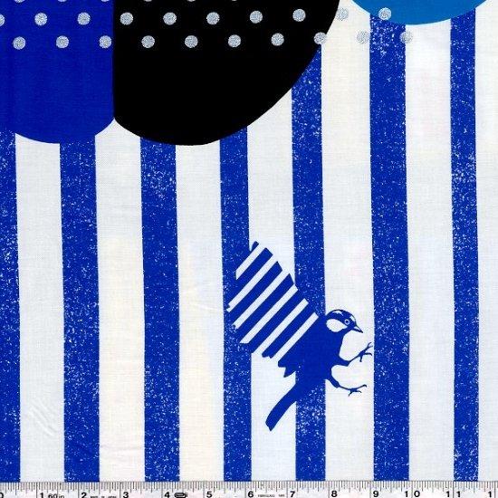 Echino Huedrawer Sateen - Grove - Blue