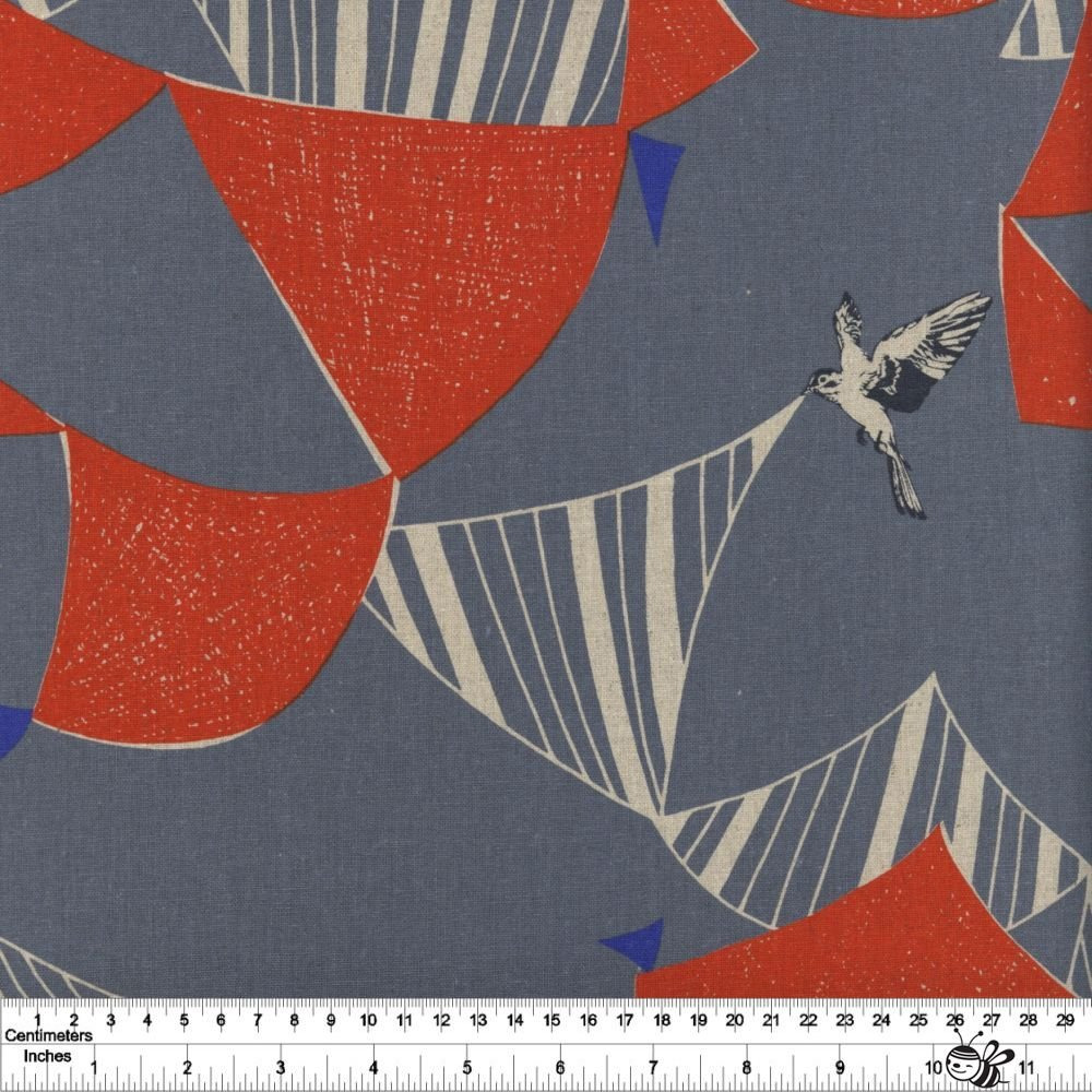 echino - Flag - Grey