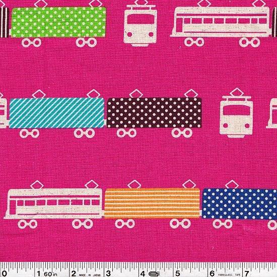 Echino Ni-Co - Train - Raspberry - ½ Meter Cut