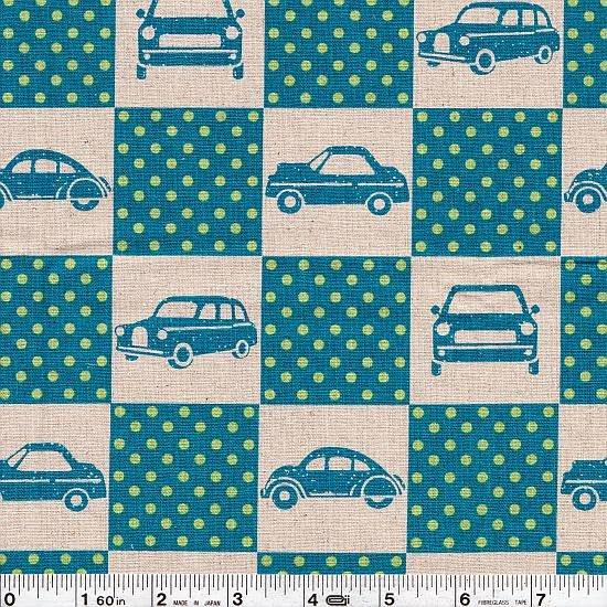Echino Ni-Co - Car Box - Turquoise