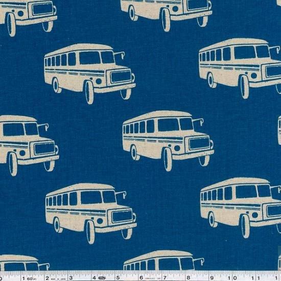 Echino Ni-Co - Bonnet Bus - Turquoise Blue