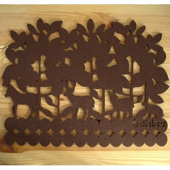 Echino Home - Placemat - Brown