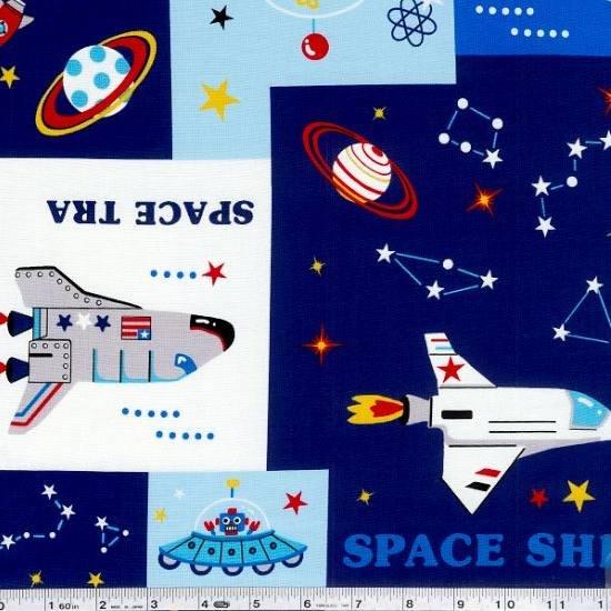 Space Odyssey - Blue