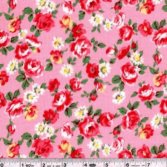 Pocket Full of Roses Gauze - Pink