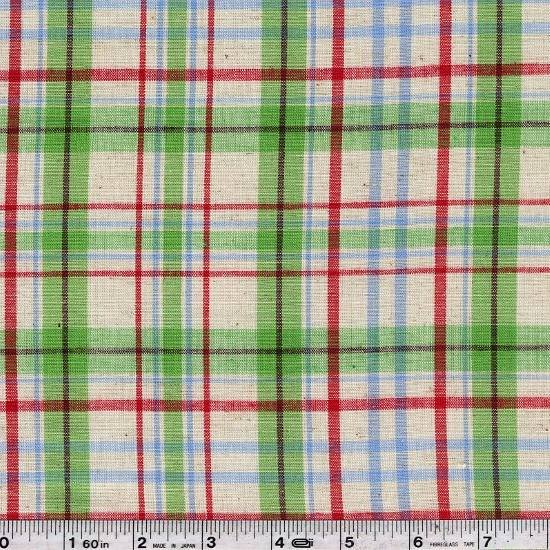 Spring Wovens - Plaid - Green