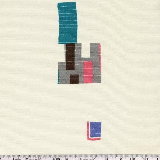 Yoshiko Jinzenji - Stitched Collage - Pastels