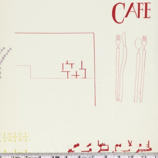 Yoshiko Jinzenji - Cafe Collage - Pastels on Ivory
