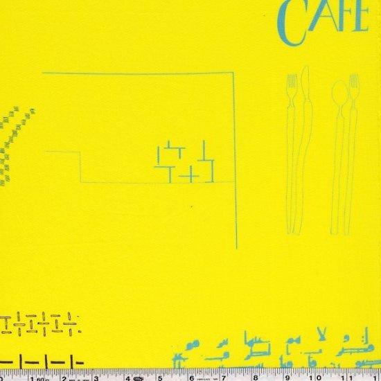 Yoshiko Jinzenji - Cafe Collage - Yellow