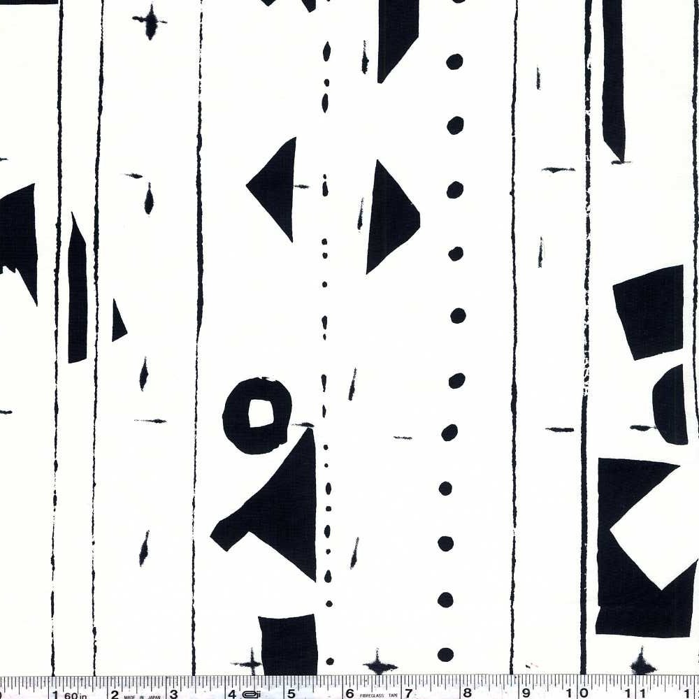 Yoshiko Jinzenji - Border - Black on White