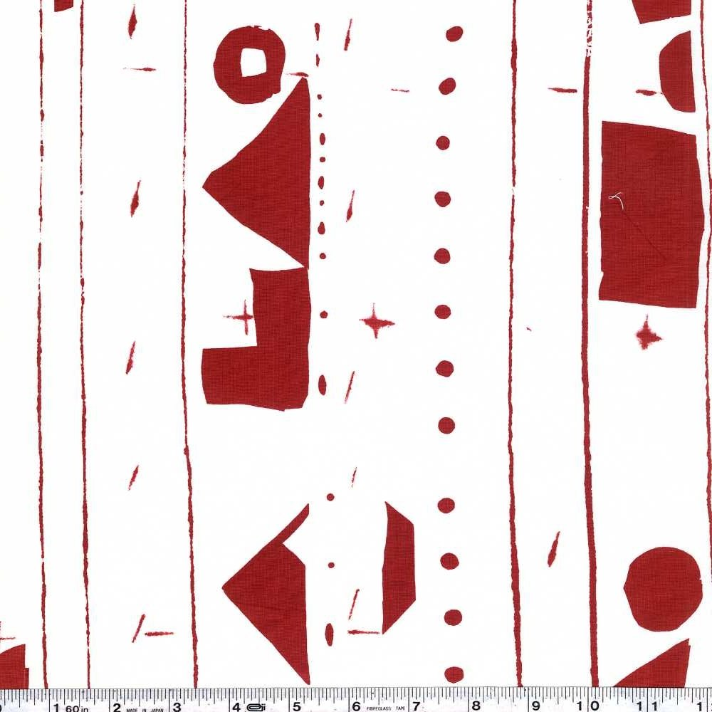 Yoshiko Jinzenji - Border - Red on White
