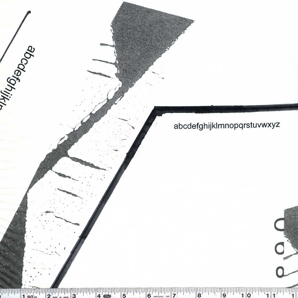 Yoshiko Jinzenji - Lines - Grey on White