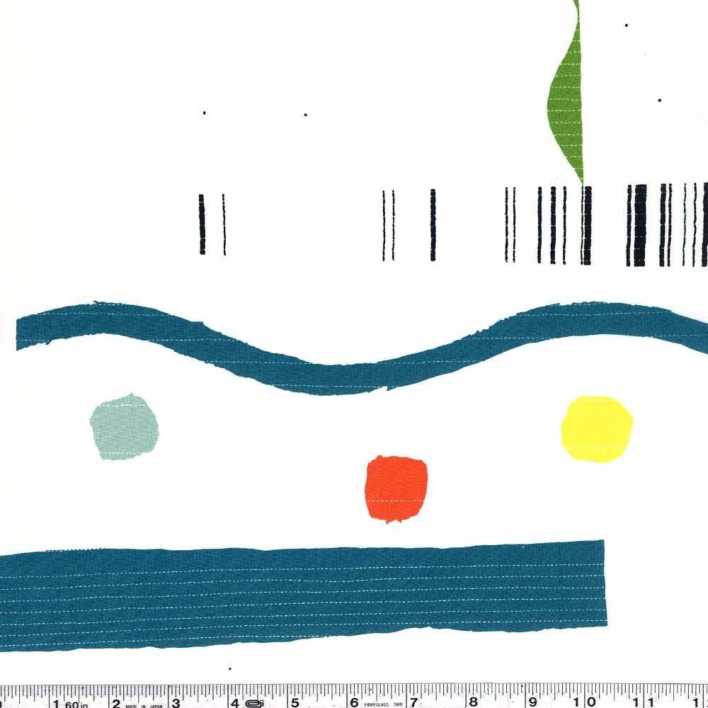 Yoshiko Jinzenji - Quilt - Multi on White