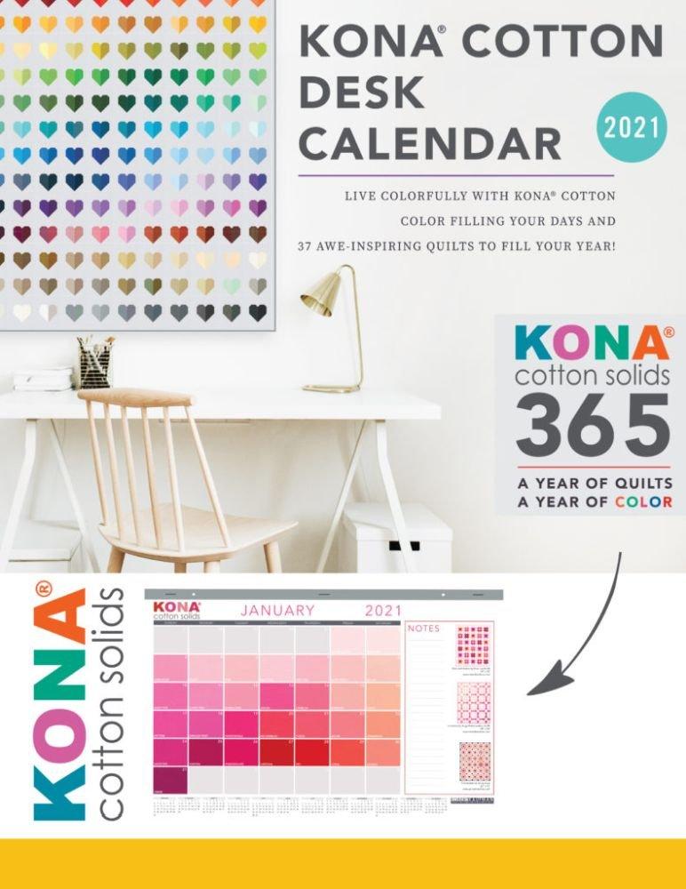 2021 Kona Cotton Desk Calendar