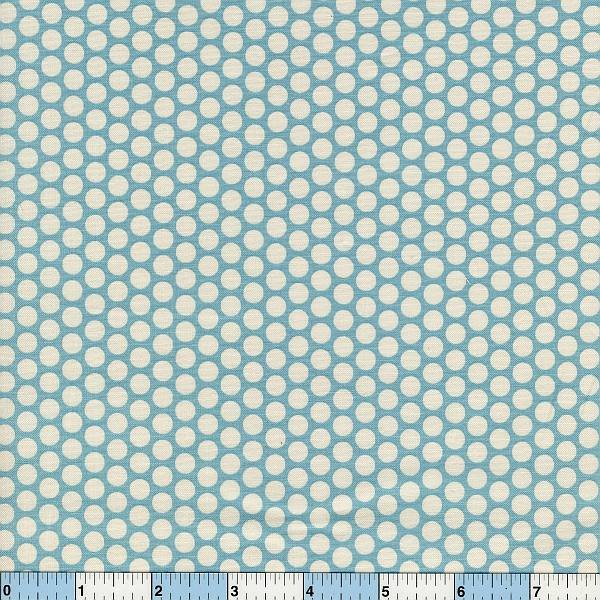 Honeycomb Polka Dots - Sky Blue