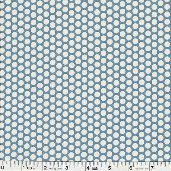 Honeycomb Polka Dots - Blue