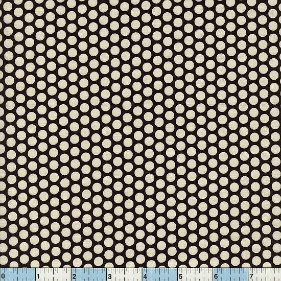 Honeycomb Polka Dots - Black