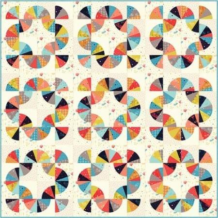 Quilt Kit - Mahalo featuring Desert Bloom fabrics