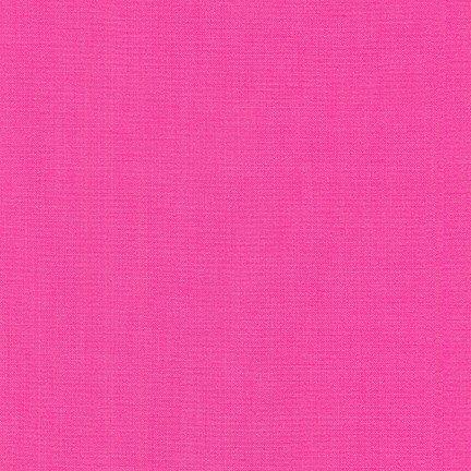 Kona Cotton 018 - Bright Pink