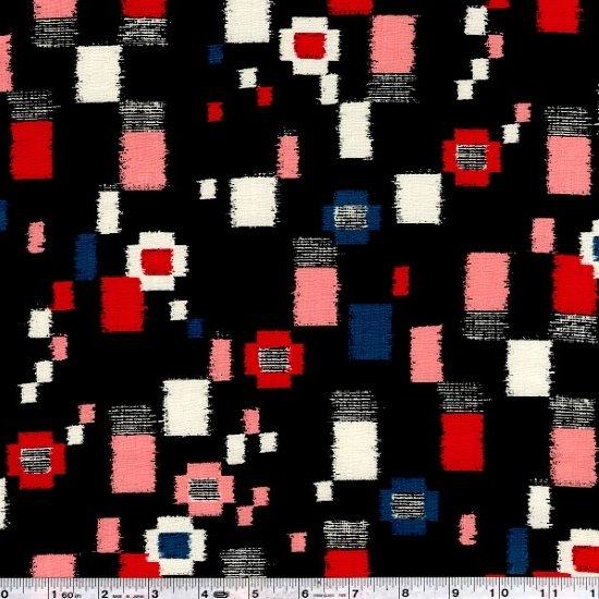 Komachi - Collage Dobby - Red & Pink