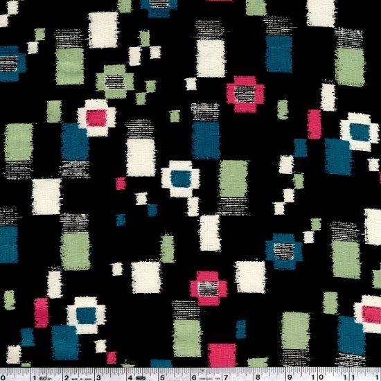 Komachi - Collage Dobby - Blue & Green