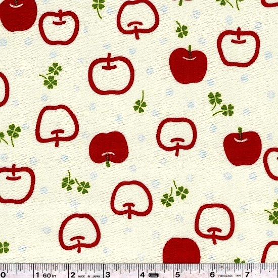Juicy Apple Twill - Red