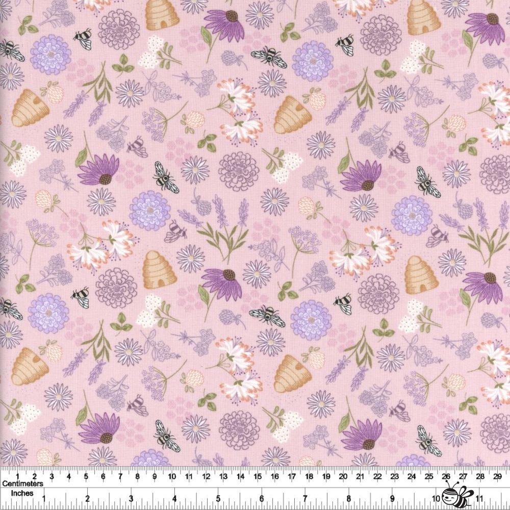 Queen Bee - Bee Floral - Pink