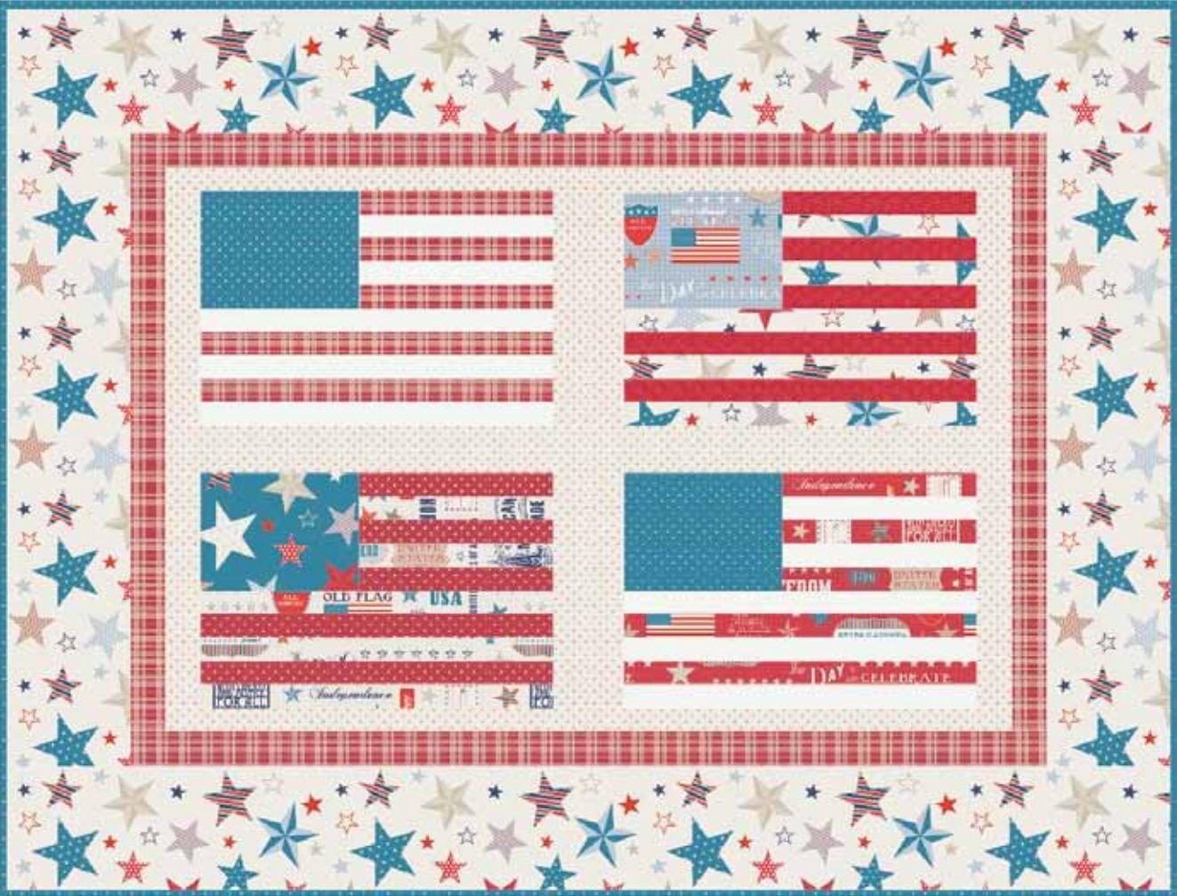Let Freedom Ring - PDF Pattern