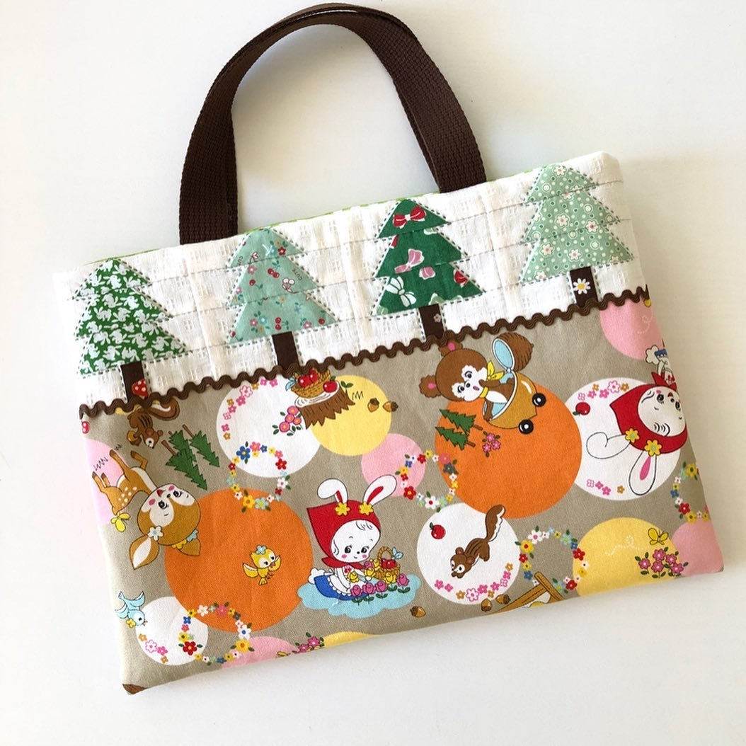 Little Red Riding Hood Tote Bag - PDF Pattern