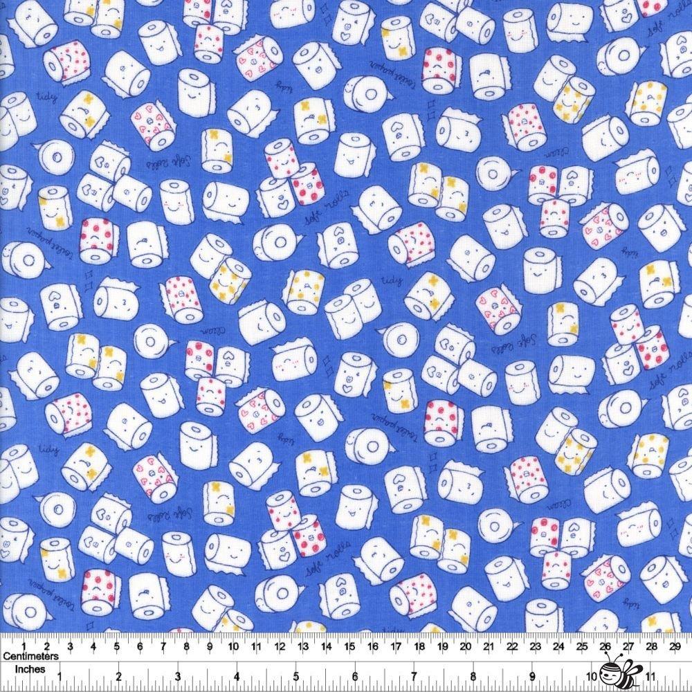 Cool Breeze - Bathroom Tissue Double Gauze - Blue