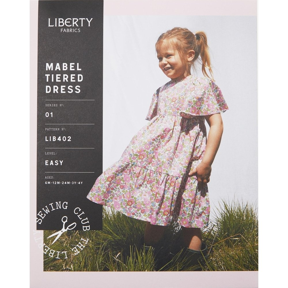 Liberty Fabrics - Mabel Tiered Dress