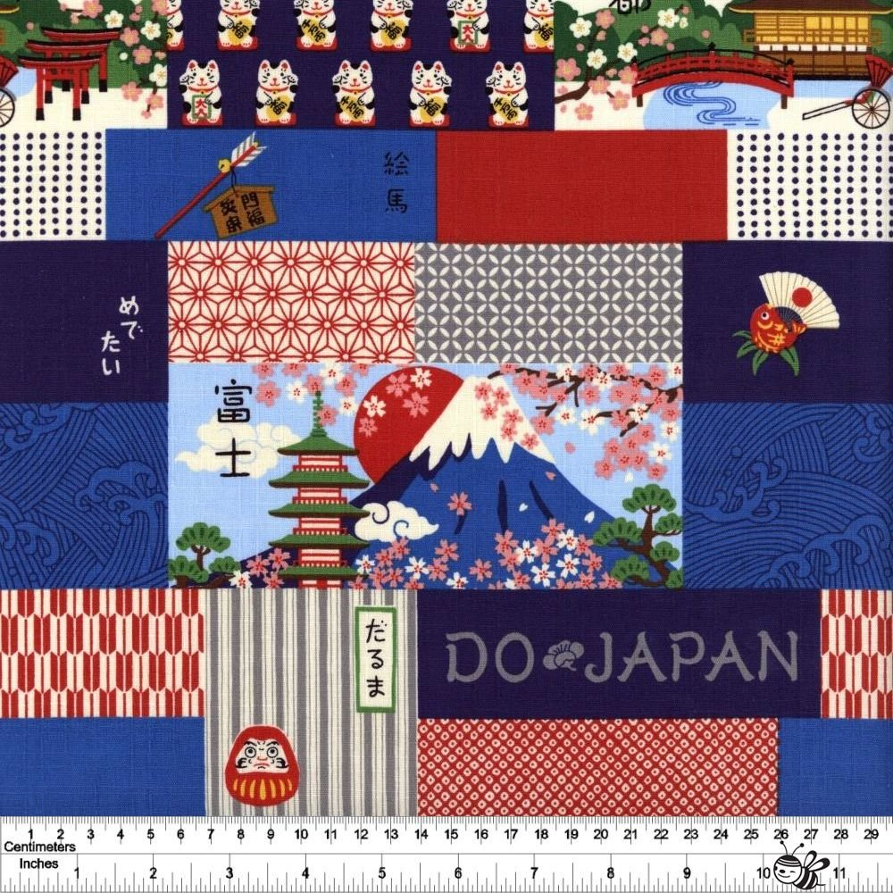 Oedo Mix - Japanese Way - Blue