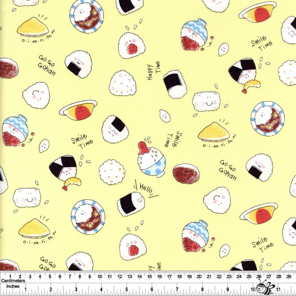 Smile Time - Onigiri - Yellow